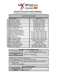 Entrenament 11 de novembre de 2018 a Santa Maria de Palautordera