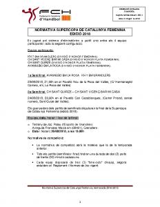 Supercopa de Catalunya Femenina