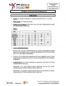 Primera Catalana Sènior Masculina