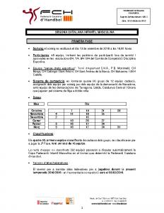 Segona Catalana Infantil Masculina