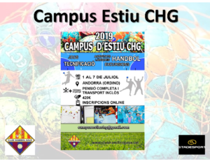 Informació campus CHG_2019