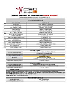 Torneig OAR Gràcia Sabadell 15 i 16 d'abril de 2019