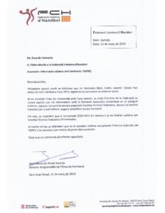 Informació validesa dels Seminaris ROPEC