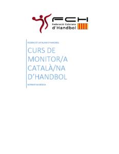 Informació General sobre el Curs de Monitor Català d'Handbol