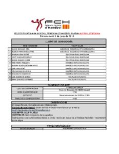 Entrenament, 9 de juny de 2019 a Sabadell