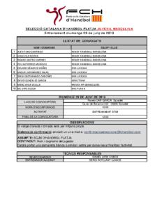 Entrenament 23 de juny de 2019 a Sabadell