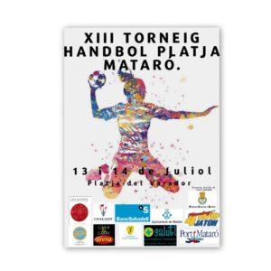 Torneig Handbol Platja Mataró 13 i 14 de juliol de 2019