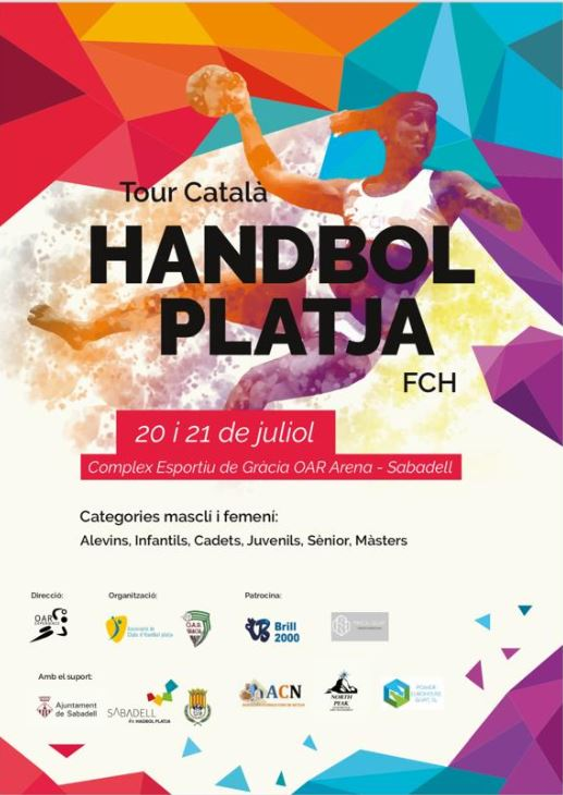 Handbopl Platja Sabadell 20 i 21 de juliol de 2019