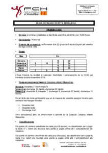 Lliga Catalana Infantil Masculina
