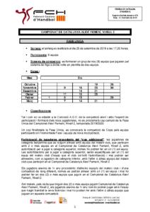 Campionat de Catalunya Aleví Femení – Nivell 2