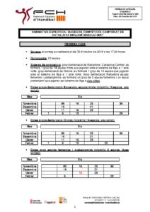 Campionat de Catalunya Benjamí Masculí-Mixt