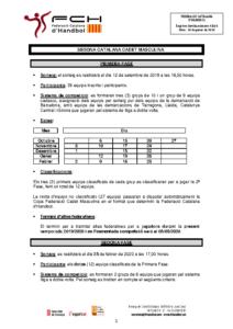 Segona Catalana Cadet Masculina