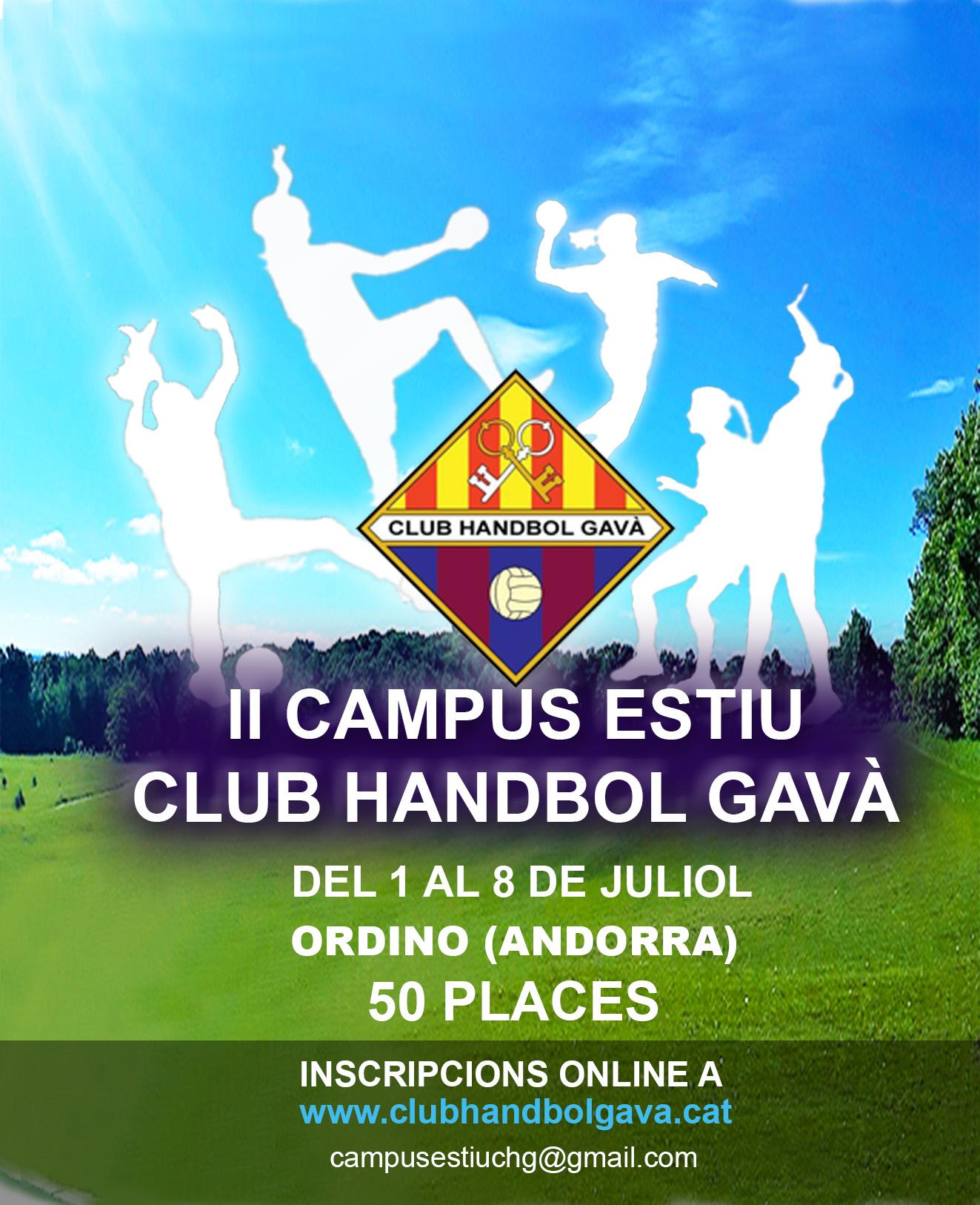 II Campus d'Estiu CH Gavà