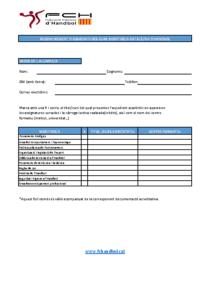 Formulari reconeixement d'assignatures Curs de Monitor