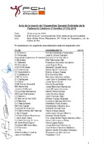 ACTA AGO 2019 (18 de maig de 2019)
